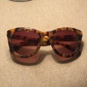 Anthropologie tortoise shell sunglasses